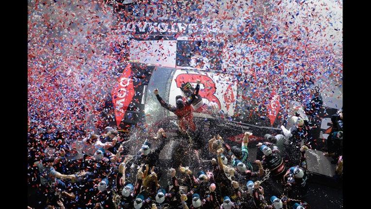 GETTY - Austin Dillon wins Daytona 500-401096