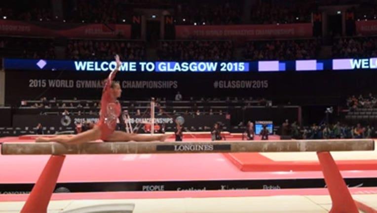406ea7af-Gymnast Creates New Move-402970
