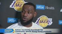 LeBron James criticized for Hong Kong comments