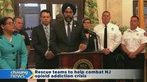 Rescue teams to help combat opioid addiction