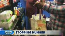 Queens school opens food pantry