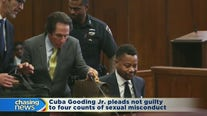 Gooding pleads not guilty to 4 new counts