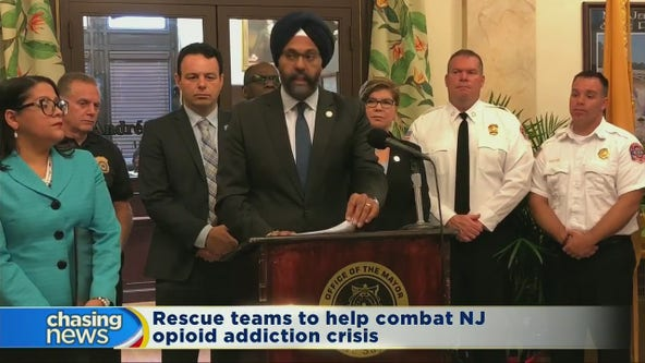 Rescue teams to help combat opioid addiction