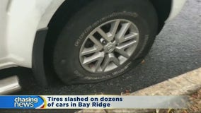 Tires slashed, cars scratched in Bay Ridge