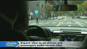 Uber set to let drivers and passengers audio-record rides