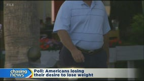 More Americans giving up on dieting