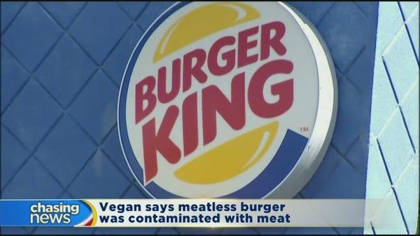 Vegan sues Burger King over meatless patty