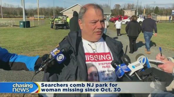 Searchers comb NJ park for missing woman