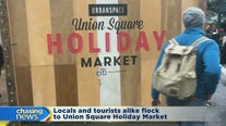 Union Square Holiday Market is up and running
