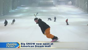 Big SNOW welcomes skiers at American Dream mall