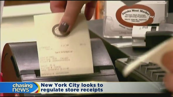 NYC Council considers banning paper receipts