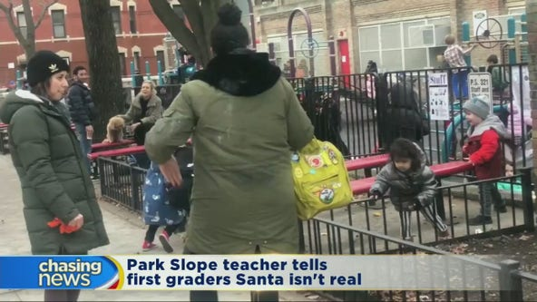 Substitute teacher tells students Santa is fake