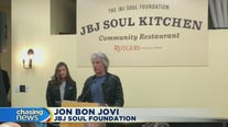 Jon Bon Jovi opens third community kitchen