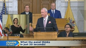 20 seconds of reaction on NJ State of the State
