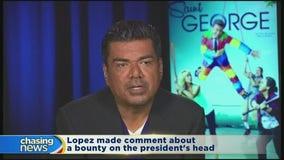 Secret Service investigating George Lopez's comment