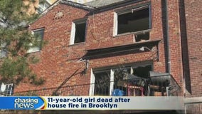 11-year-old girl dead after Brooklyn house fire