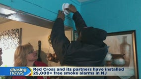 Hundreds of Newark residents get free smoke alarms