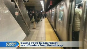 Cuomo vows to ban repeat sex offenders from subway