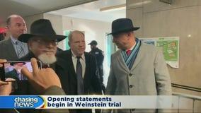 Opening statements begin in Weinstein trial