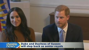 Harry and Meghan step back