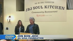 Jon Bon Jovi opens third community kitchen
