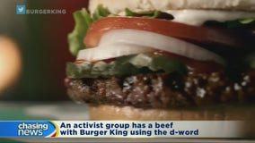 Group has beef with Burger King commercial