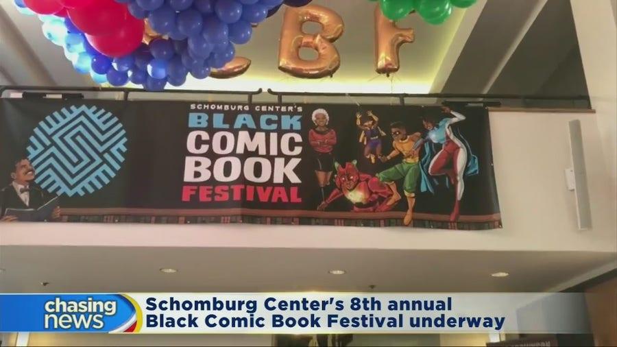 Schomburg Center's 8th annual Black Comic Book Festival underway