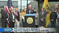 Poll puts Murphy approval rating in the 40s