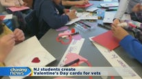 Students create Valentines for vets