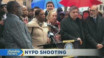 NYC leaders rally in support of NYPD