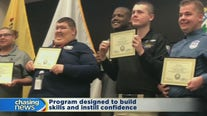 Cadets with special needs complete police training