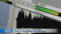 Mysterious signal from deep space repeating every 16 days