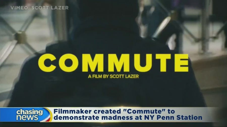 """""""Commute"""" documents madness at NY Penn Station"""