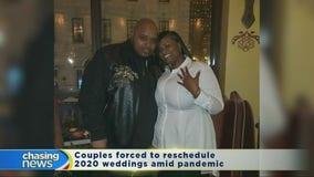 Coronavirus causing issues on the wedding front