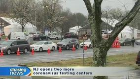 NJ opens more coronavirus testing centers