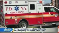 Chasing EMT worker describes heartbreak for coronavirus first responders