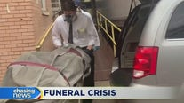 Funeral homes overwhelmed during the pandemic