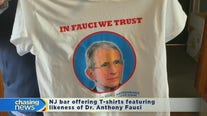 NJ bar set to hand out T-shirts featuring Anthony Fauci