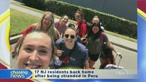 17 NJ residents back home after being stranded in Peru
