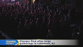 Charges filed after large gatherings