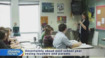 Uncertainty about next school year vexes teachers and parents
