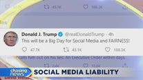 Trump's executive order challenges social media liability protections
