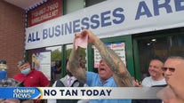 Staten Island tanning salon tries to reopen, defying orders