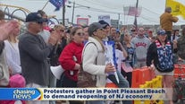 Protesters gather in Point Pleasant Beach to demand reopening of NJ economy