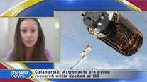 The Space Gal talks about what the astronauts are doing at the International Space Station
