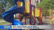 NYC playgrounds set to open when Phase Two begins Monday