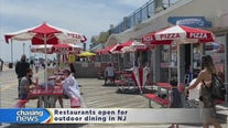 Outdoor dining resumes in NJ