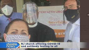 One church in NJ offers COVID-19 testing