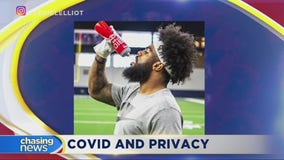 Cowboys running back tests positive and isn't happy everyone knows