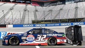 NASCAR 'Trump 2020' car keeps Goodyear tires despite president's call for boycott